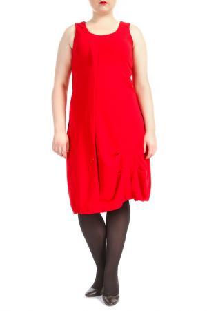 Платье KOKOMARINA. Цвет: красный
