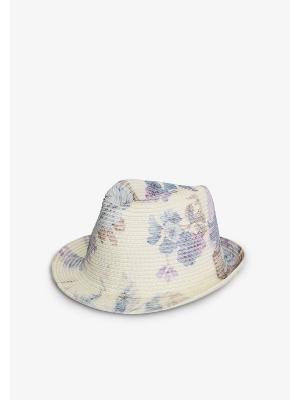 Шляпа ZARINA. Цвет: бронзовый, зеленый