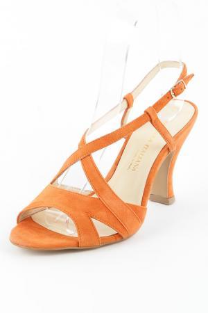 Туфли Formula Italiana. Цвет: оранжевый