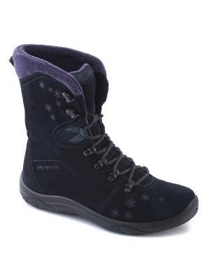 Ботинки S-TEP. Цвет: темно-синий