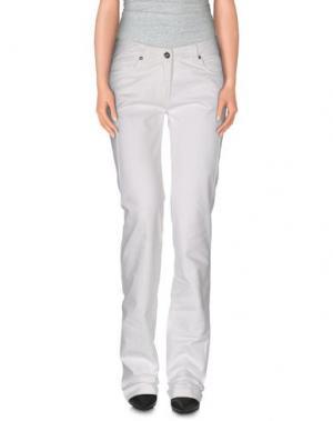Повседневные брюки HEAVEN TWO. Цвет: белый