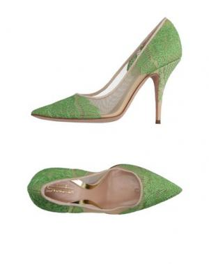 Туфли SEBASTIAN. Цвет: зеленый