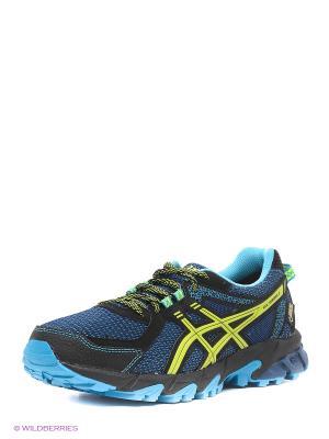 Спортивная обувь GEL-SONOMA 2 G-TX ASICS. Цвет: синий, желтый, черный