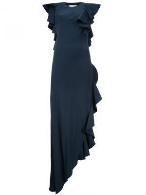 Вечернее платье Lopera Bianca Spender. Цвет: зелёный