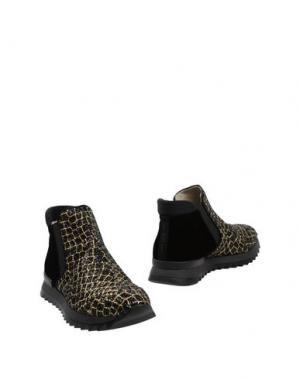 Полусапоги и высокие ботинки 181 by ALBERTO GOZZI. Цвет: черный