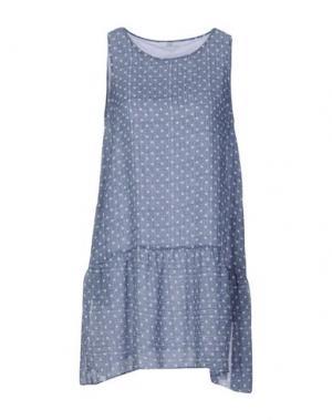 Короткое платье GAZEL. Цвет: грифельно-синий
