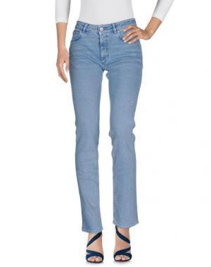 Джинсовые брюки ACNE STUDIOS. Цвет: синий