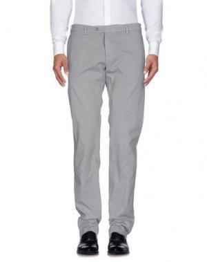 Повседневные брюки TOMBOLINI. Цвет: серый