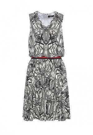 Платье Byblos. Цвет: черно-белый
