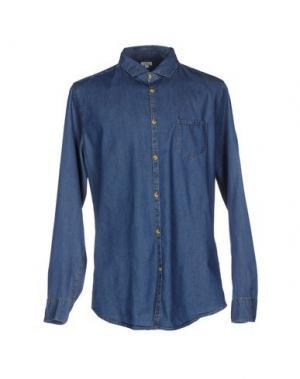 Джинсовая рубашка SCOUT. Цвет: синий