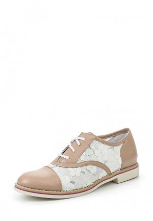 Ботинки Simen. Цвет: бежевый