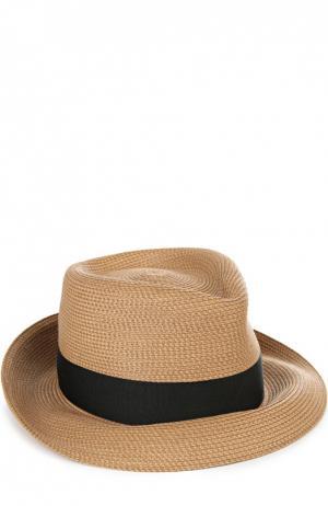 Шляпа с лентой Eric Javits. Цвет: черный