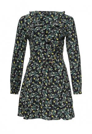 Платье Miss Selfridge. Цвет: разноцветный