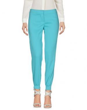 Повседневные брюки NORA BARTH. Цвет: бирюзовый