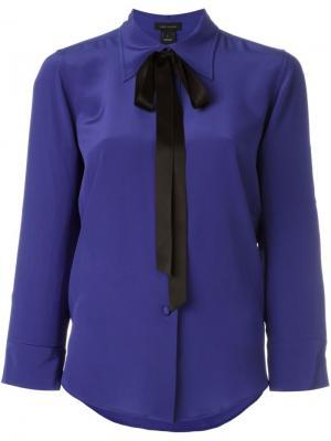 Блузка с бантом Marc Jacobs. Цвет: синий