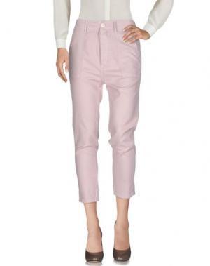 Повседневные брюки THE GREAT.. Цвет: светло-розовый