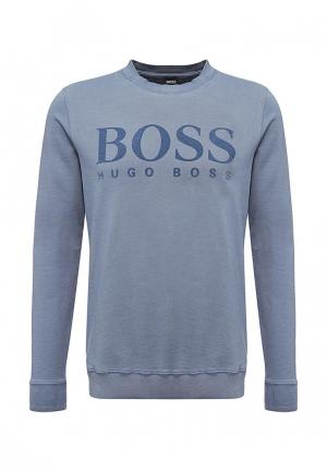 Свитшот Boss Hugo. Цвет: синий