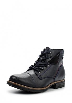 Ботинки Pradella. Цвет: синий