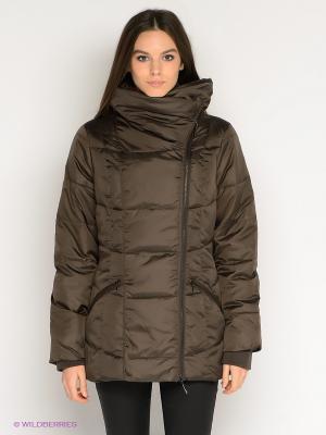 Куртка TATUUM. Цвет: темно-коричневый
