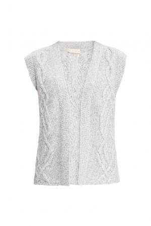 Жилет 154532 Sweet Sweaters. Цвет: серый