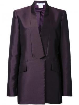 Пиджак с застежкой на пуговицы Bianca Spender. Цвет: розовый и фиолетовый