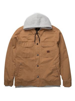 Куртка TRENTON SHERPA JACKE BILLABONG. Цвет: рыжий