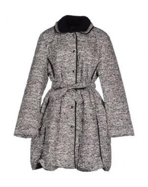 Пальто CLUB VOLTAIRE. Цвет: серый