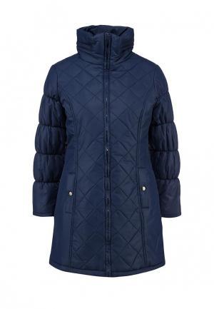 Куртка утепленная Catwalk88. Цвет: синий