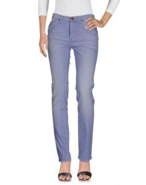Джинсовые брюки IT'S MET. Цвет: сиреневый