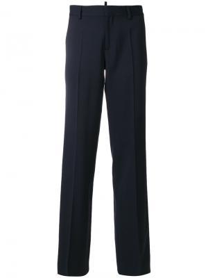 Строгие брюки Dsquared2. Цвет: синий