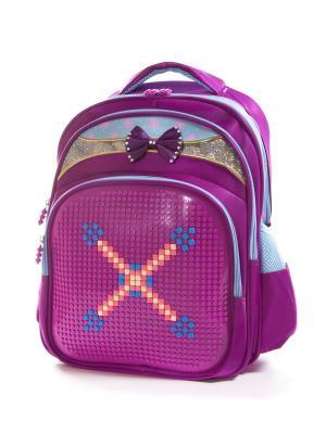 Рюкзак Vittorio Richi. Цвет: фиолетовый, голубой