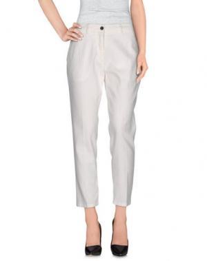 Повседневные брюки INX #THINK COLORED. Цвет: слоновая кость