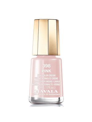 Лак для ногтей тон 398 Pink Mavala. Цвет: кремовый