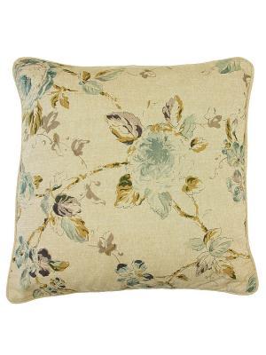 Подушка декоративная Naturel. Цвет: бежевый, голубой