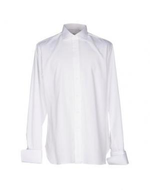 Pубашка ALESSANDRO GHERARDI. Цвет: белый