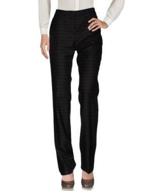 Повседневные брюки AKRIS. Цвет: темно-коричневый