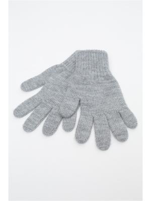 Перчатки FOMAS. Цвет: серый