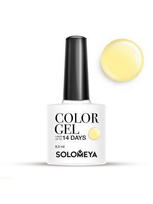 Гель-лак Color Gel Тон Lemon SCG026/Лимон SOLOMEYA. Цвет: желтый