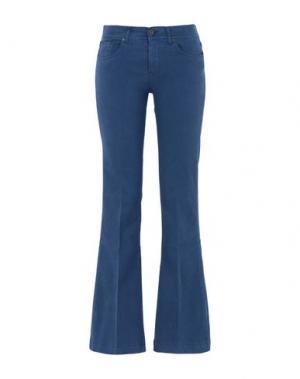Повседневные брюки GEORGE J. LOVE. Цвет: грифельно-синий