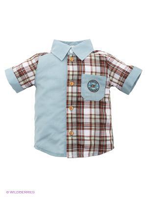 Рубашка CHOUPETTE. Цвет: серый, коричневый