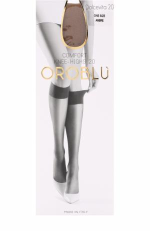 Капроновые гольфы Oroblu. Цвет: бежевый