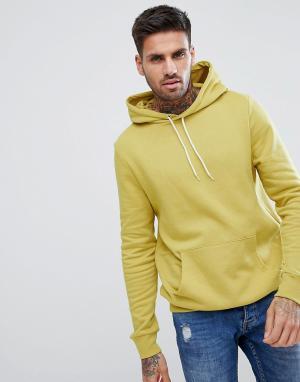 New Look Худи горчичного цвета. Цвет: желтый