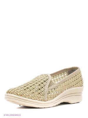 Мокасины ШК обувь. Цвет: светло-зеленый