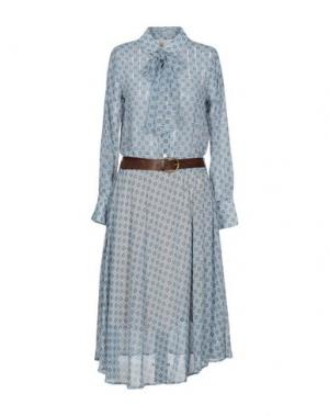 Платье длиной 3/4 SOUVENIR. Цвет: небесно-голубой