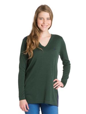 Кофта U.S. Polo Assn.. Цвет: зеленый