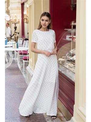 Платье макси из крепа Self Made