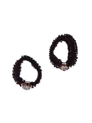Резинка(2 шт) Bizon. Цвет: коричневый