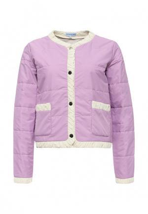 Куртка утепленная Imocean. Цвет: фиолетовый