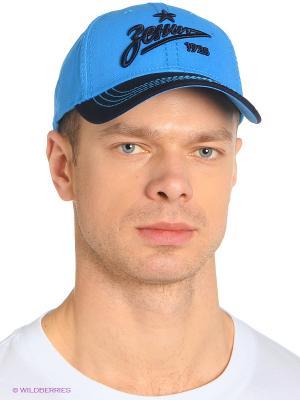 Бейсболка Зенит Atributika & Club. Цвет: синий