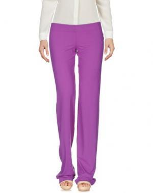 Повседневные брюки FISICO. Цвет: светло-фиолетовый